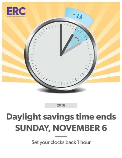 Time Change Poster November 6, 2016