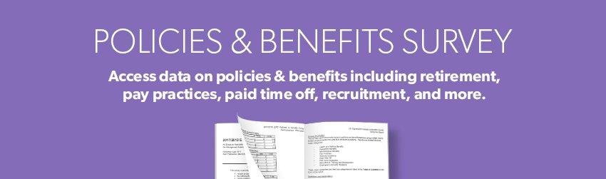2017-2018 ERC Policies & Benefits Survey