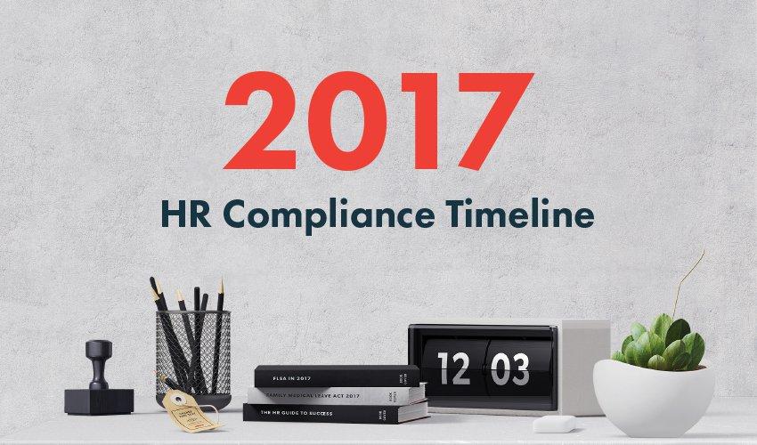 2017 HR Compliance Timeline