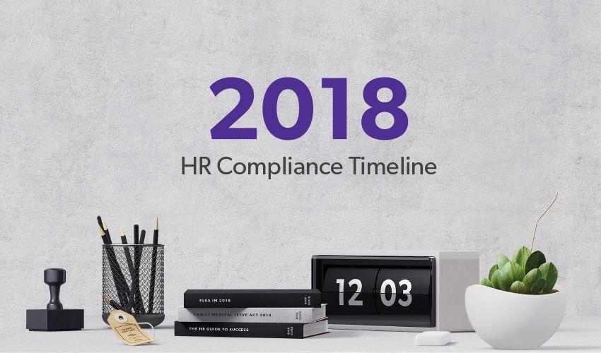 2018 HR Compliance Timeline