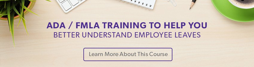 ADA/FMLA Training Course