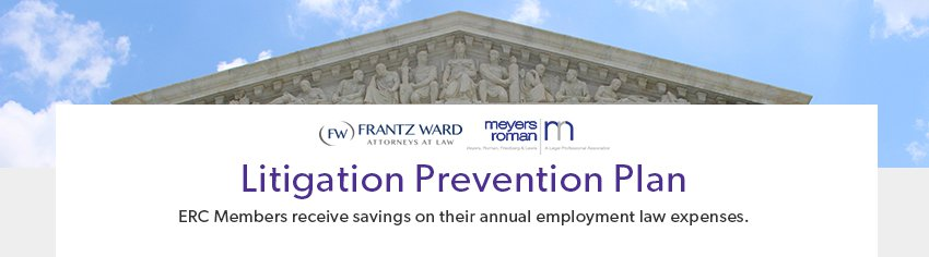 ERC Partners Frantz Ward and Meyers Roman Litigation Prevention Plan